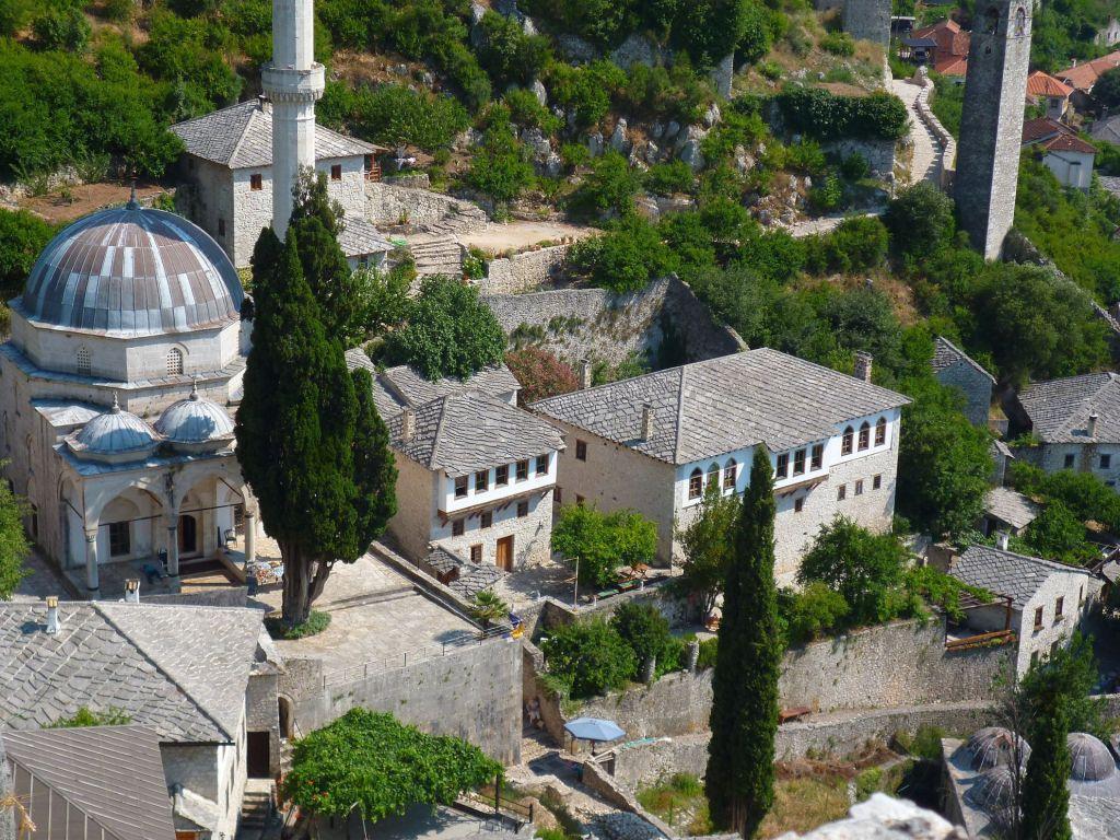 Мечеть в Почителе. Фото: Елена Арсениевич, CC BY-SA 3.0