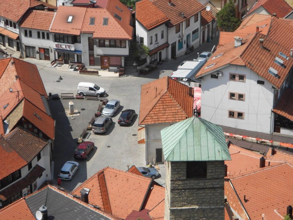 Башня и чаршия. Фото: Елена Арсениевич, CC BY-SA 3.0