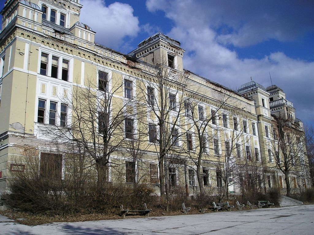 Эффектный фасад. Фото: Smooth_O, public domain