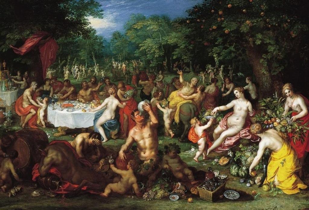 Вакханалия. В Герцеговине это происходит несколько пристойнее. Jan Brueghel the Elder и Hendrick van Balen, CC BY-SA 3.0