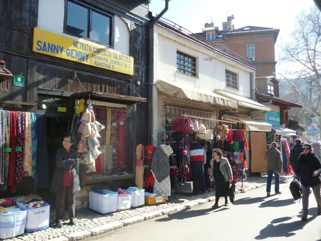Магазин тканей на Абаджилуке. Фото: Елена Арсениевич, CC BY-SA 3.0