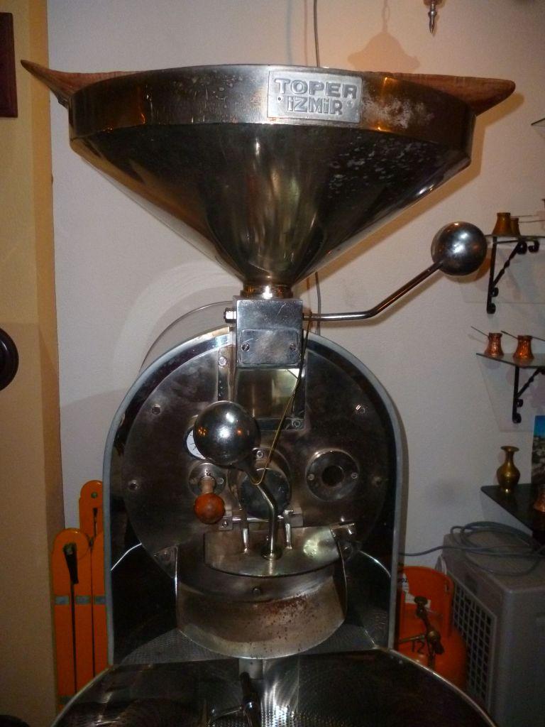 Аппарат для обжарки кофе. Фото: Елена Арсениевич, CC BY-SA 3.0