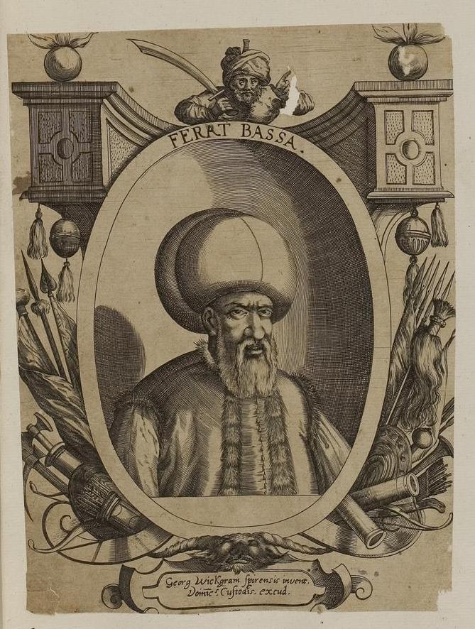 Гази Ферхад-паша Соколович. Dominicus Custos, Public Domain
