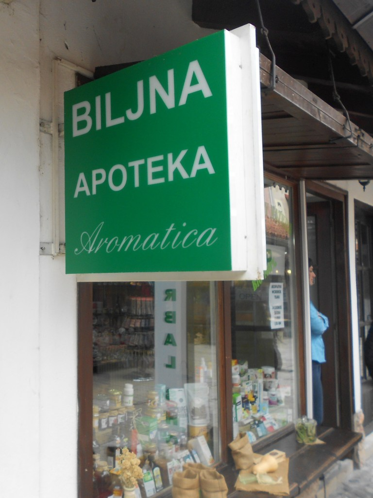 Травяная аптека в Сараево. Фото: Елена Арсениевич, CC BY-SA 3.0