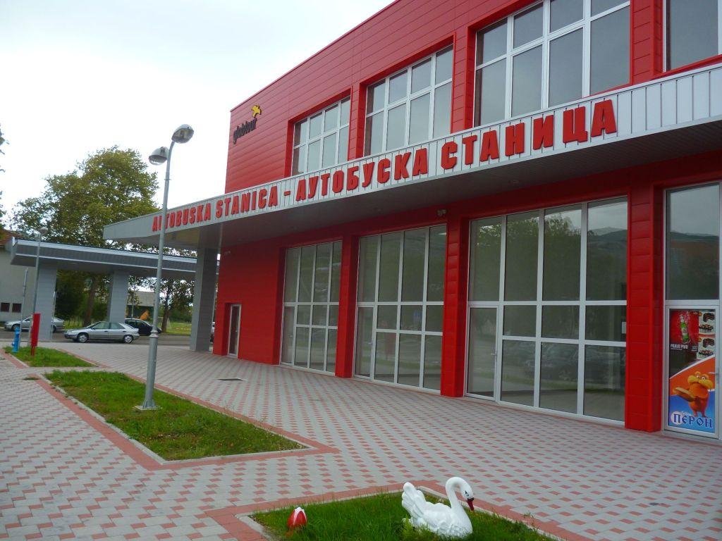 Автостанция в Требине. Фото: Елена Арсениевич, CC BY-SA 3.0
