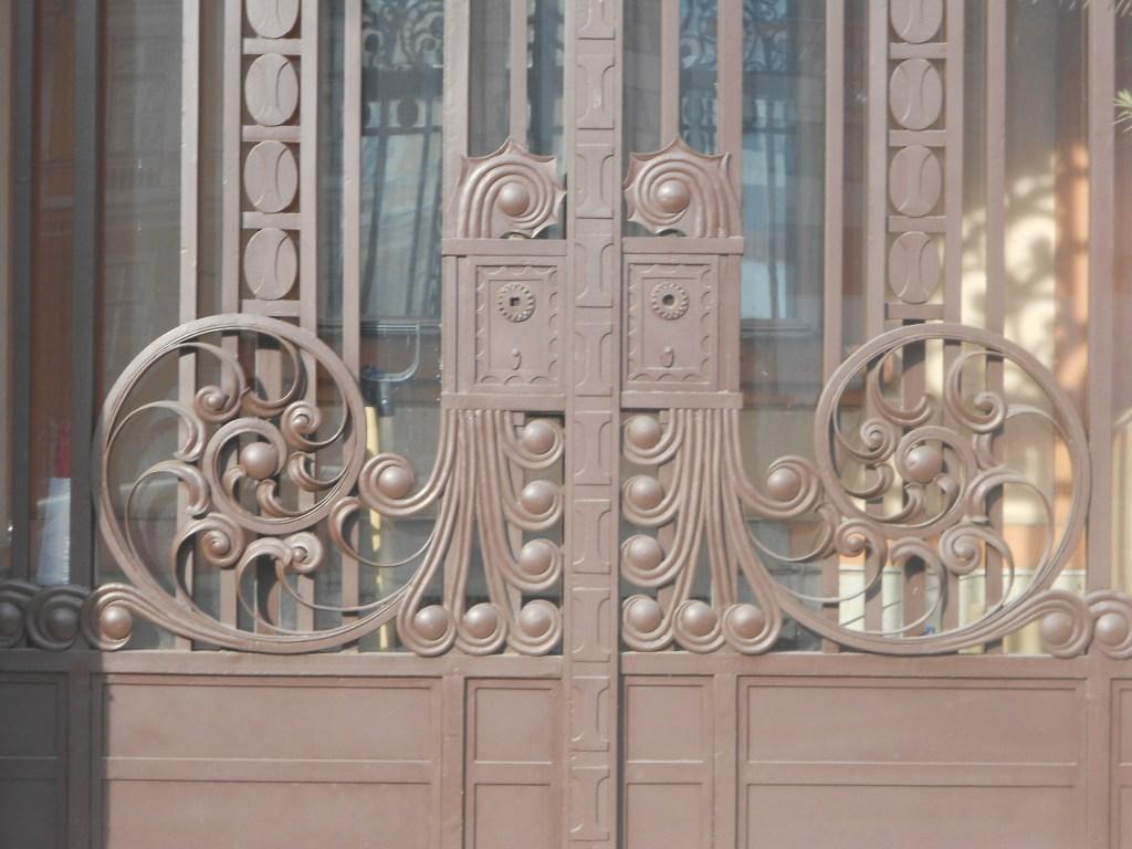 Двери банка. Фото: Елена Арсениевич, CC BY-SA 3.0