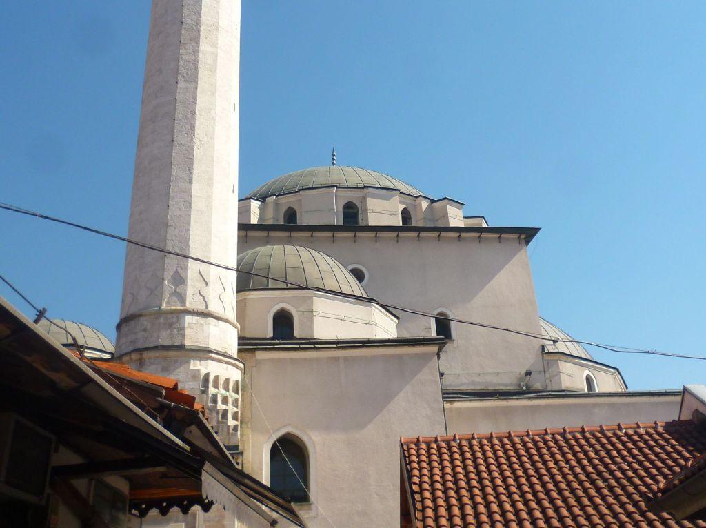 Купола Беговой мечети. Фото: Елена Арсениевич, CC BY-SA 3.0