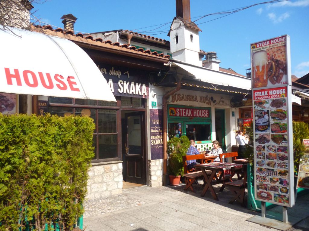 Один из ресторанчиков Браваджилука. Фото: Елена Арсениевич, CC BY-SA 3.0