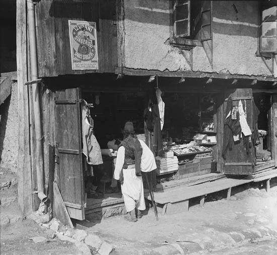 Торговля в чаршии. Rudolf Bruner-Dvořák, Public Domain