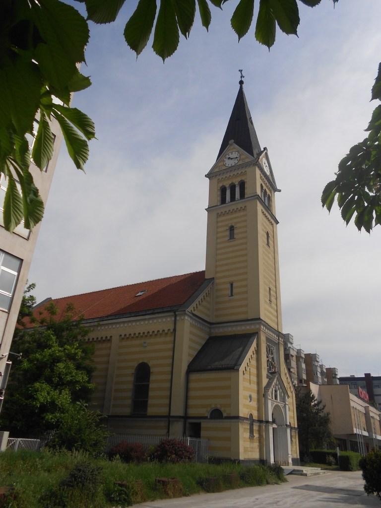 Колокольня церкви св. Троицы. Фото: Елена Арсениевич, CC BY-SA 3.0