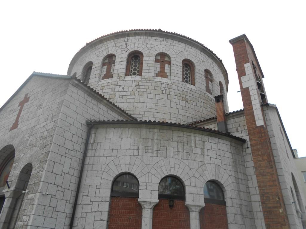 Церковь св. Преображения. Фото: Елена Арсениевич, CC BY-SA 3.0