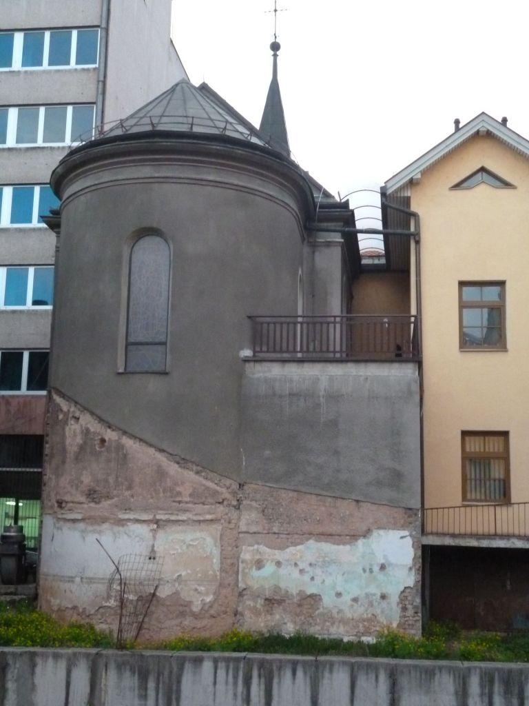 Апсида церкви св. Винко Паульского. Фото: Елена Арсениевич, CC BY-SA 3.0