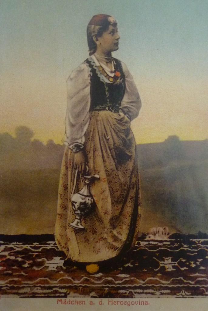 Герцеговинская красавица. Автор фото неизвестен, public domain