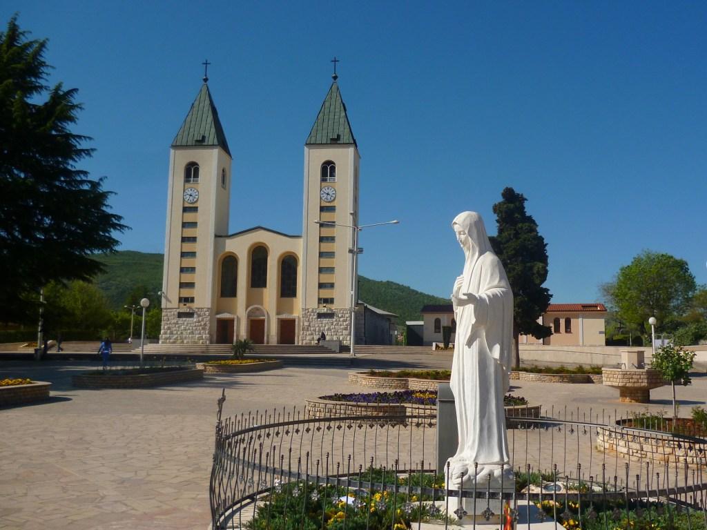 Меджугорье, место явлений Девы Марии. Фото: Елена Арсениевич, CC BY-SA 3.0