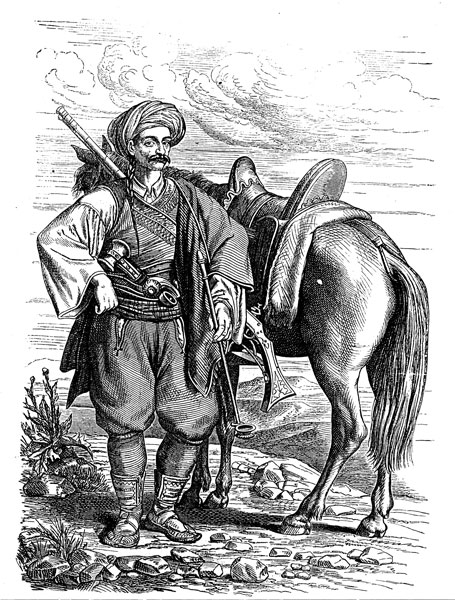 Далматинский харамбаша. Мият Томич одевался примерно так же. Unknown, CC BY-SA 3.0