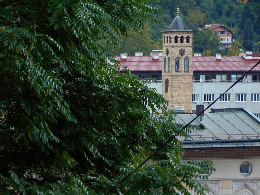 Сараевская часовая башня. Фото: Елена Арсениевич, CC BY-SA 3.0