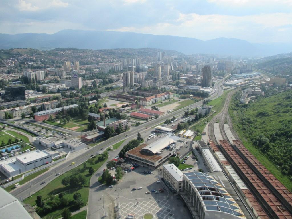 Вид на Новое Сараево. Фото: Елена Арсениевич, CC BY-SA 3.0