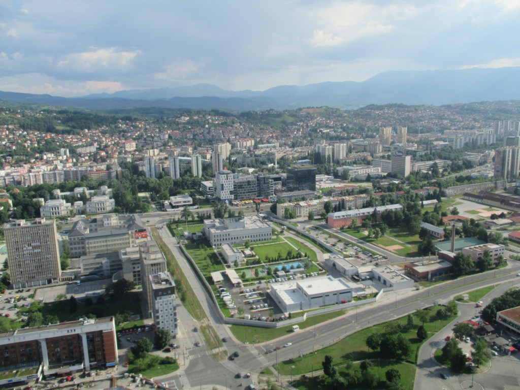 Вид с небоскрёба. Фото: Елена Арсениевич, CC BY-SA 3.0