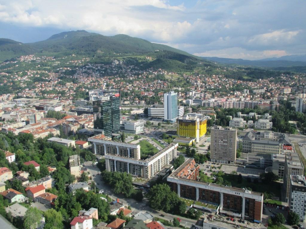 Вид сверху: район Мариин Двор. Фото: Елена Арсениевич, CC BY-SA 3.0