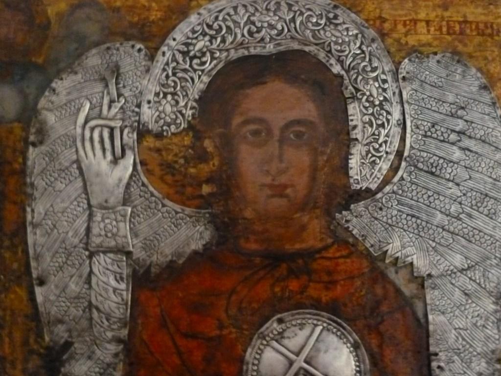 Фрагмент иконы из коллекции музея. Фото: Елена Арсениевич, CC BY-SA 3.0
