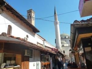 Бегова мечеть, вид с улицы Куюнджилук. Фото: Елена Арсениевич, CC BY-SA 3.0