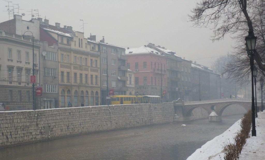 Сараево в январе. Фото: Елена Арсениевич, CC BY-SA 3.0