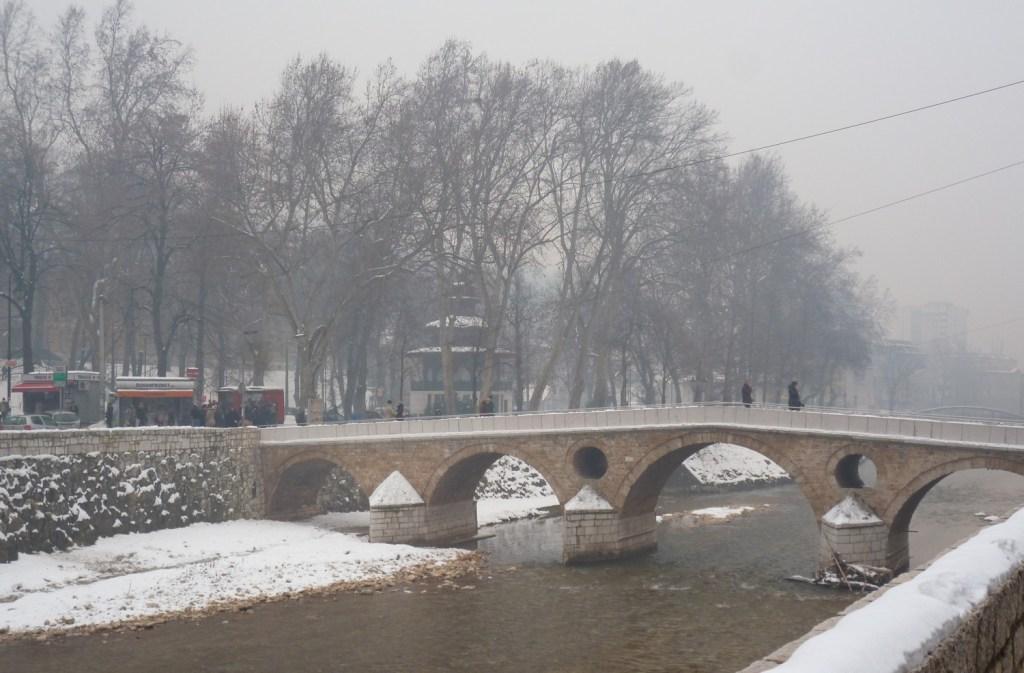 Латинский мост в Сараево. Фото: Елена Арсениевич, CC BY-SA 3.0