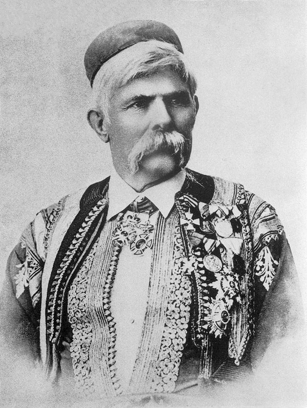 Считается, что черногорец Марко Милянов был здухач. Автор фото неизвестен, public domain
