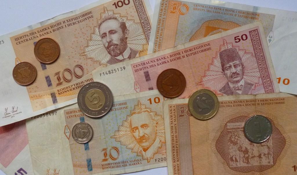 Национальная валюта Боснии и Герцеговины. Фото: Елена Арсениевич, CC BY-SA 3.0