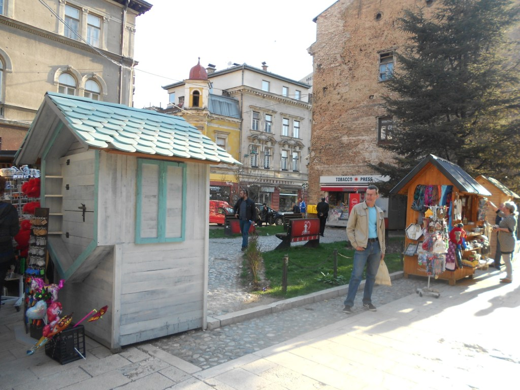 Южное завершение улицы. Фото: Елена Арсениевич, CC BY-SA 3.0
