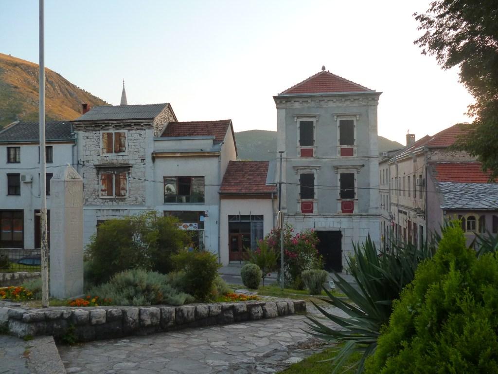 Первое здание, которое Муяга Комадина построил в Мостаре. Фото: Елена Арсениевич, CC BY-SA 3.0