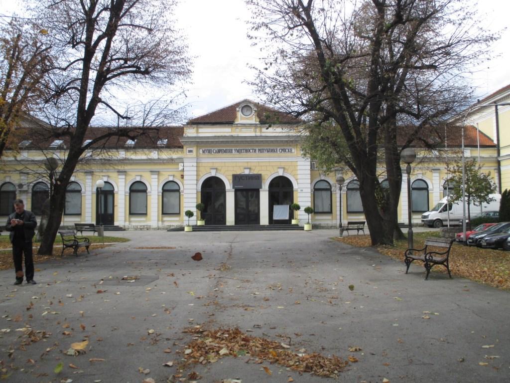 Бывшая ж/д станция. Фото: Елена Арсениевич, CC BY-SA 3.0