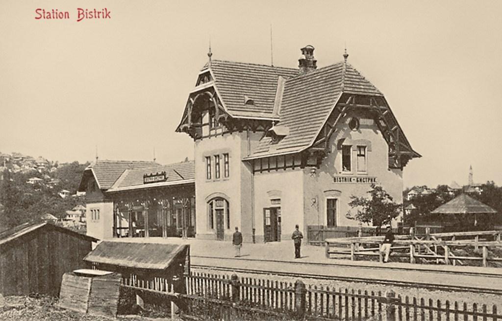 Бистрик в 1910 году. Albert Thier, public domain