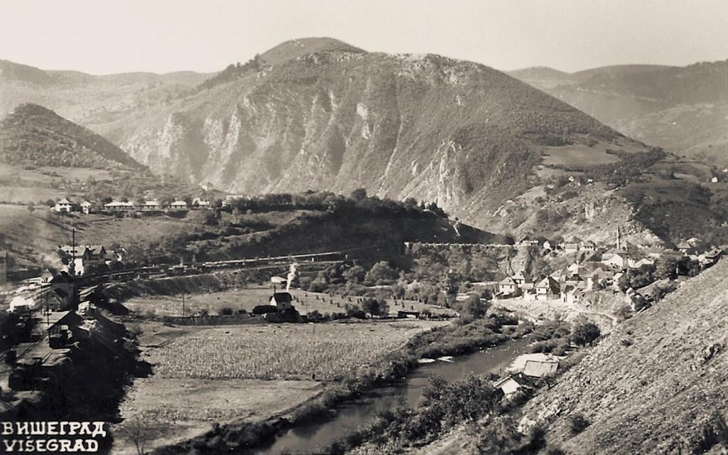Вишеград в 1930-х. Unknown, CC BY-SA 3.0