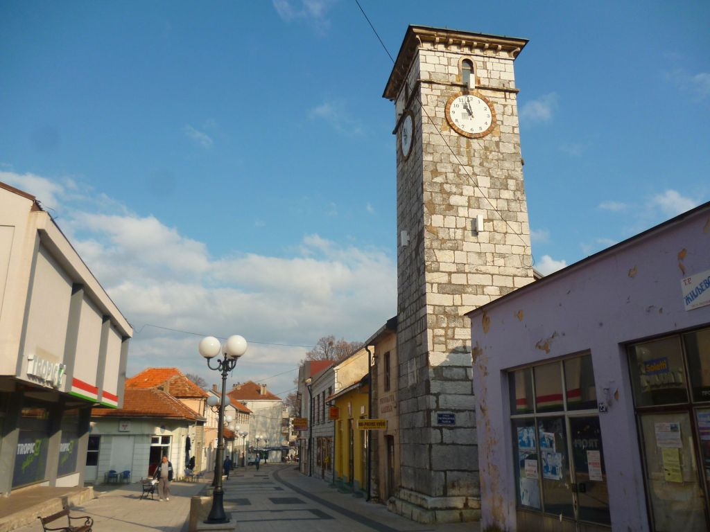 Часовая башня в Невесине. Фото: Елена Арсениевич, CC BY-SA 3.0