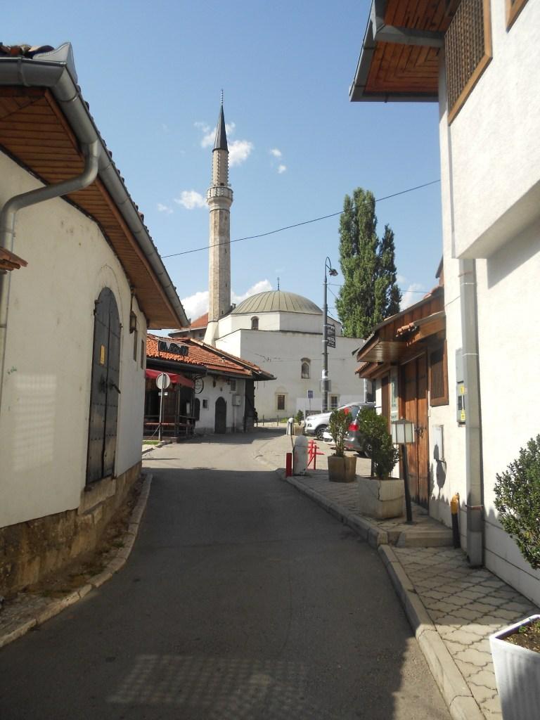 Чекречиина мечеть, вид с улицы Опркань. Фото: Елена Арсениевич, CC BY-SA 3.0