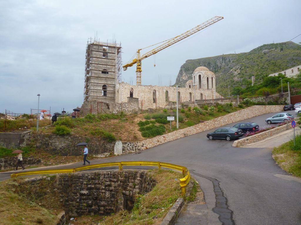 Церковь сейчас в процессе восстановления. Фото: Елена Арсениевич, CC BY-SA 3.0