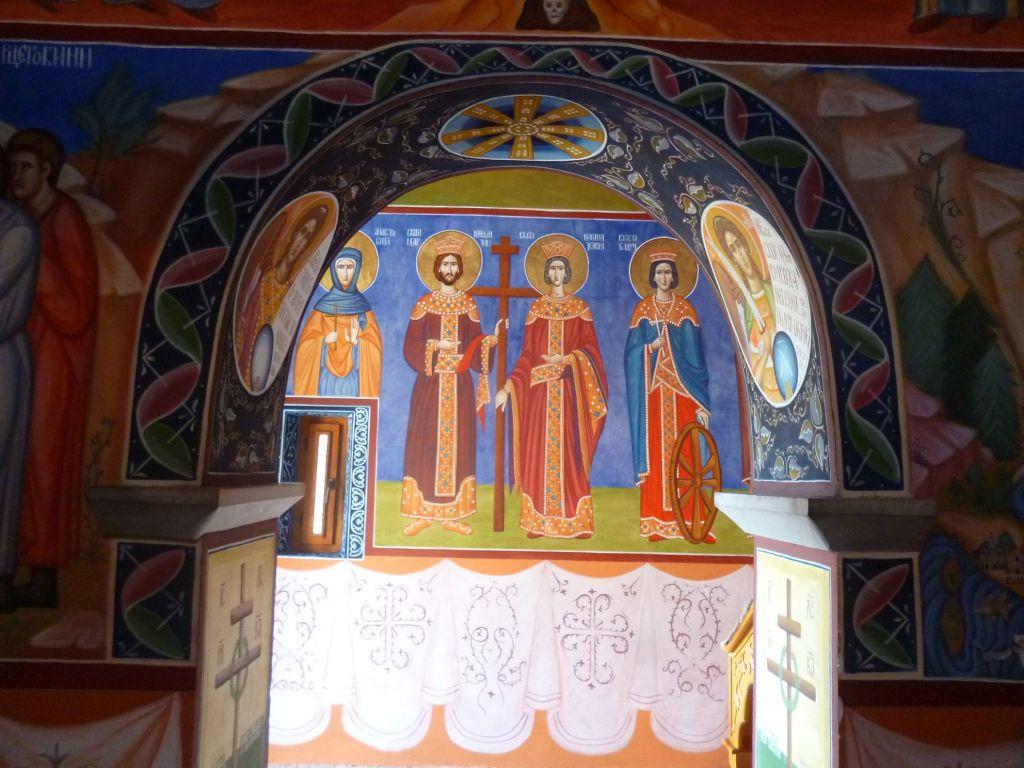 Св. Константин и Елена. Фото: Елена Арсениевич, CC BY-SA 3.0