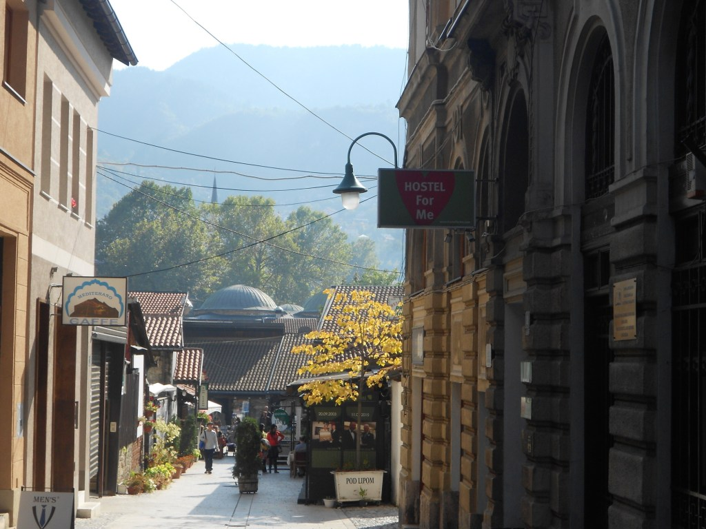 Осенний Сараево. Гора Требевич. Фото: Елена Арсениевич, CC BY-SA 3.0