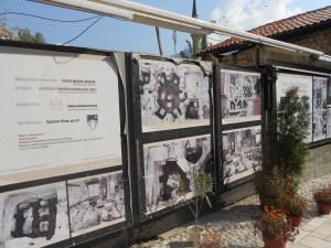 За этим забором остатки некогда знаменитого Фирузова хаммама. Фото: Елена Арсениевич, CC BY-SA 3.0