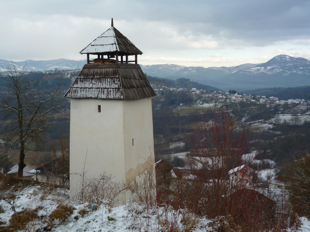 Часовая башня в Прусаце. Фото: Елена Арсениевич, CC BY-SA 3.0