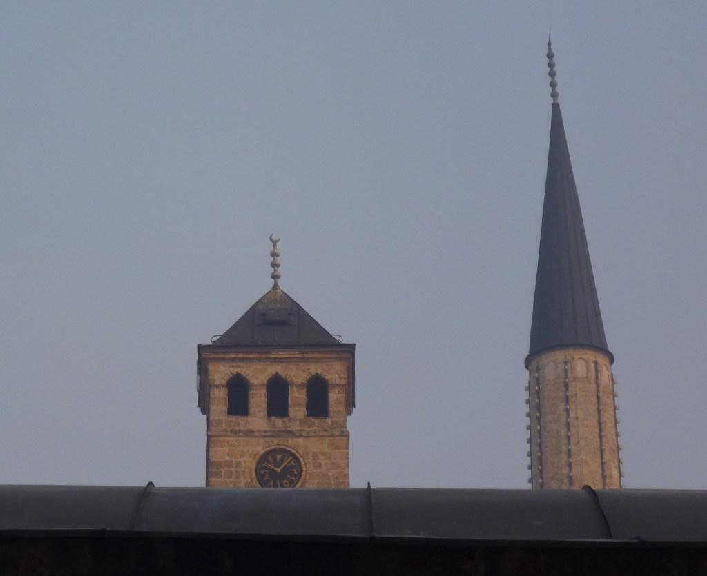 Сахат-кула в Сараево. Фото: Елена Арсениевич, CC BY-SA 3.0