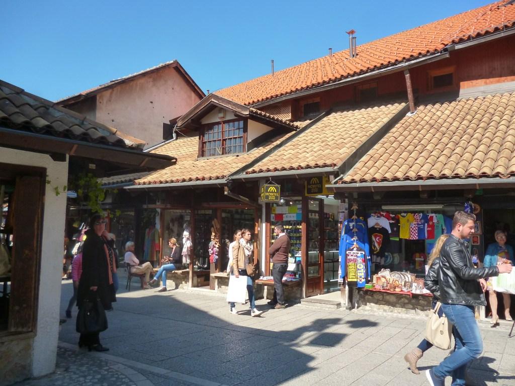 На улице Сарачи. Фото: Елена Арсениевич, CC BY-SA 3.0