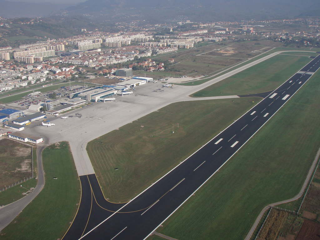 Сараевский аэропорт. Фото: Eao-be, CC-BY-SA-3.0-migrated, GFDL