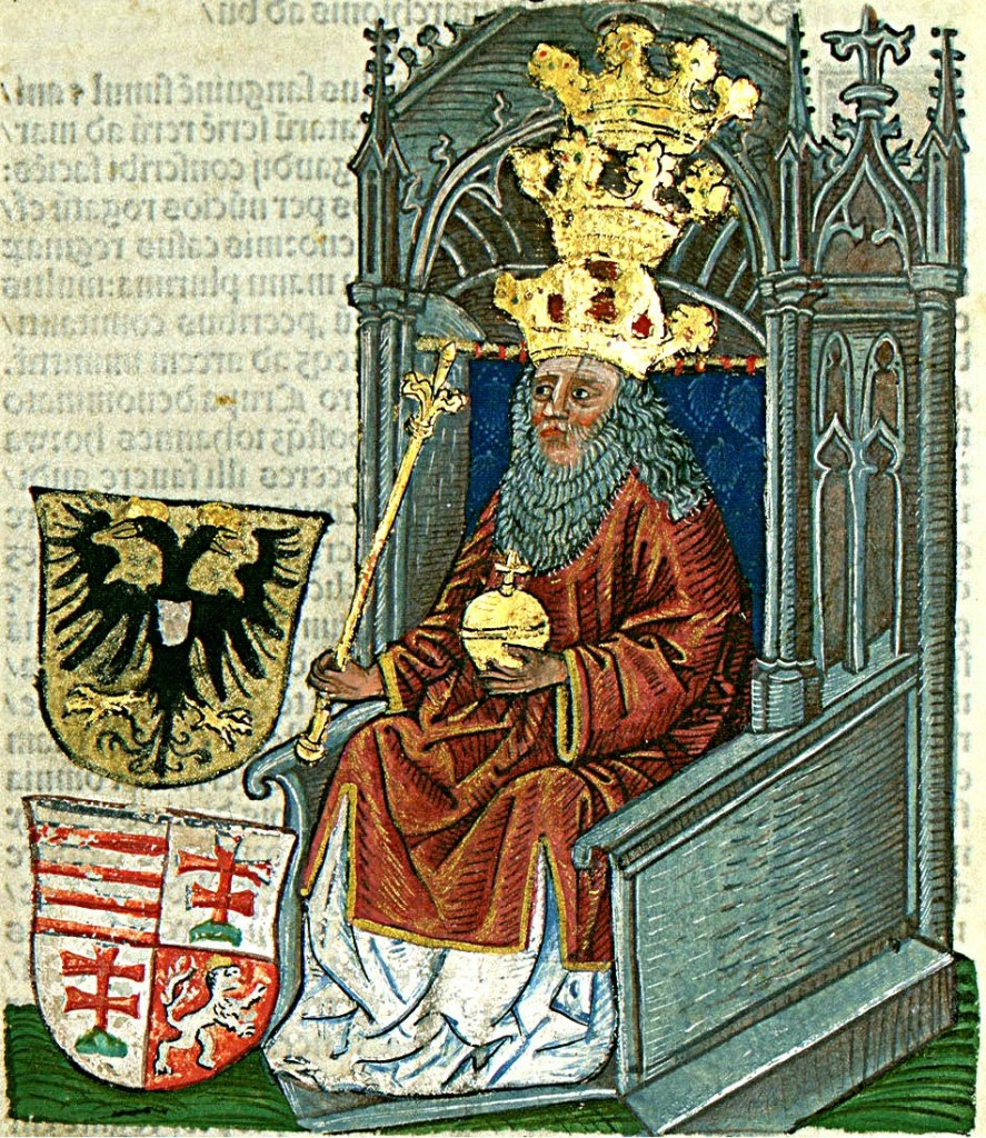 Король Сигизмунд. János Thuróczy, Public Domain