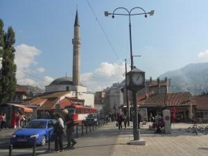 Улица Телали, площадь Башчаршия и Чекрекчиина мечеть. Фото: Елена Арсениевич, CC BY-SA 3.0