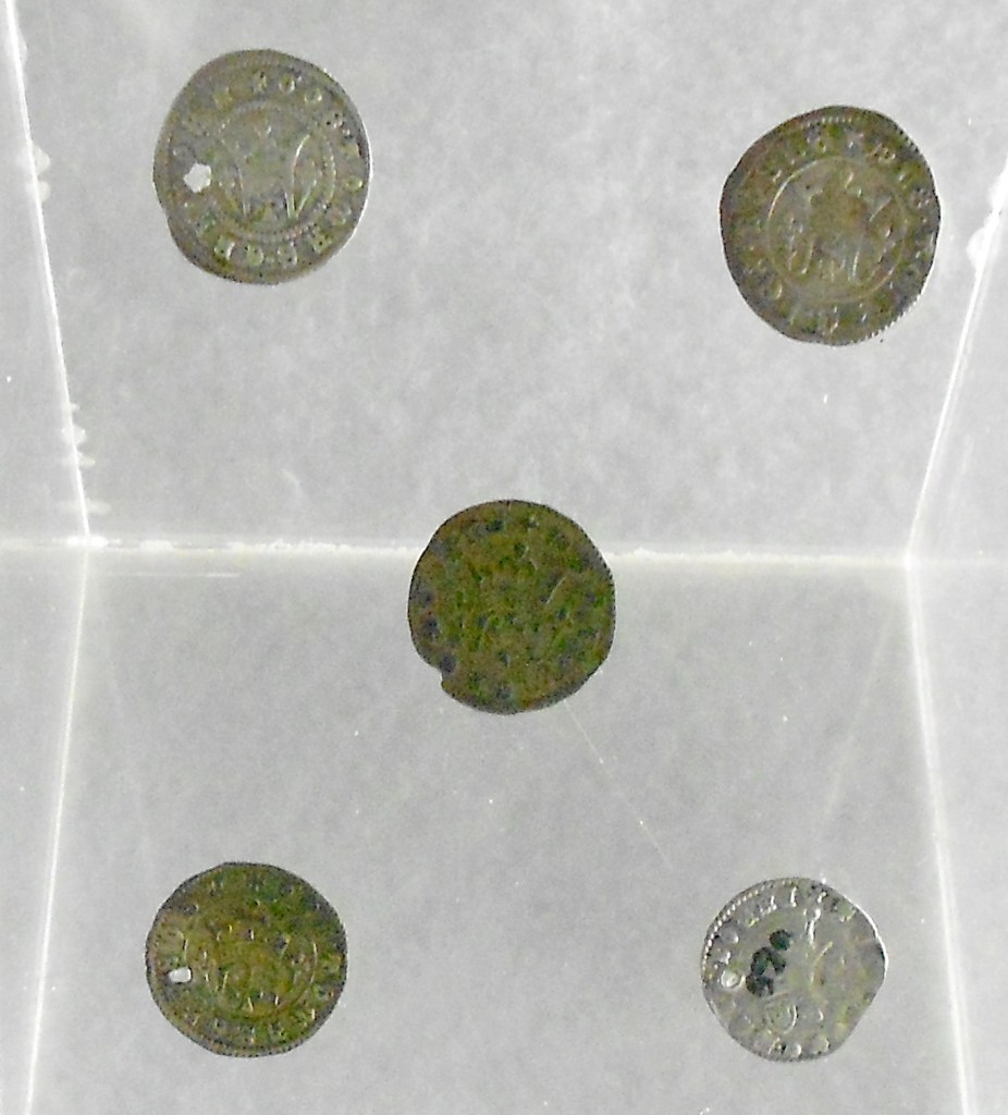 Монеты Степана Томаша в Земальском музее в Сараево. Фото: Елена Арсениевич, CC BY-SA 3.0