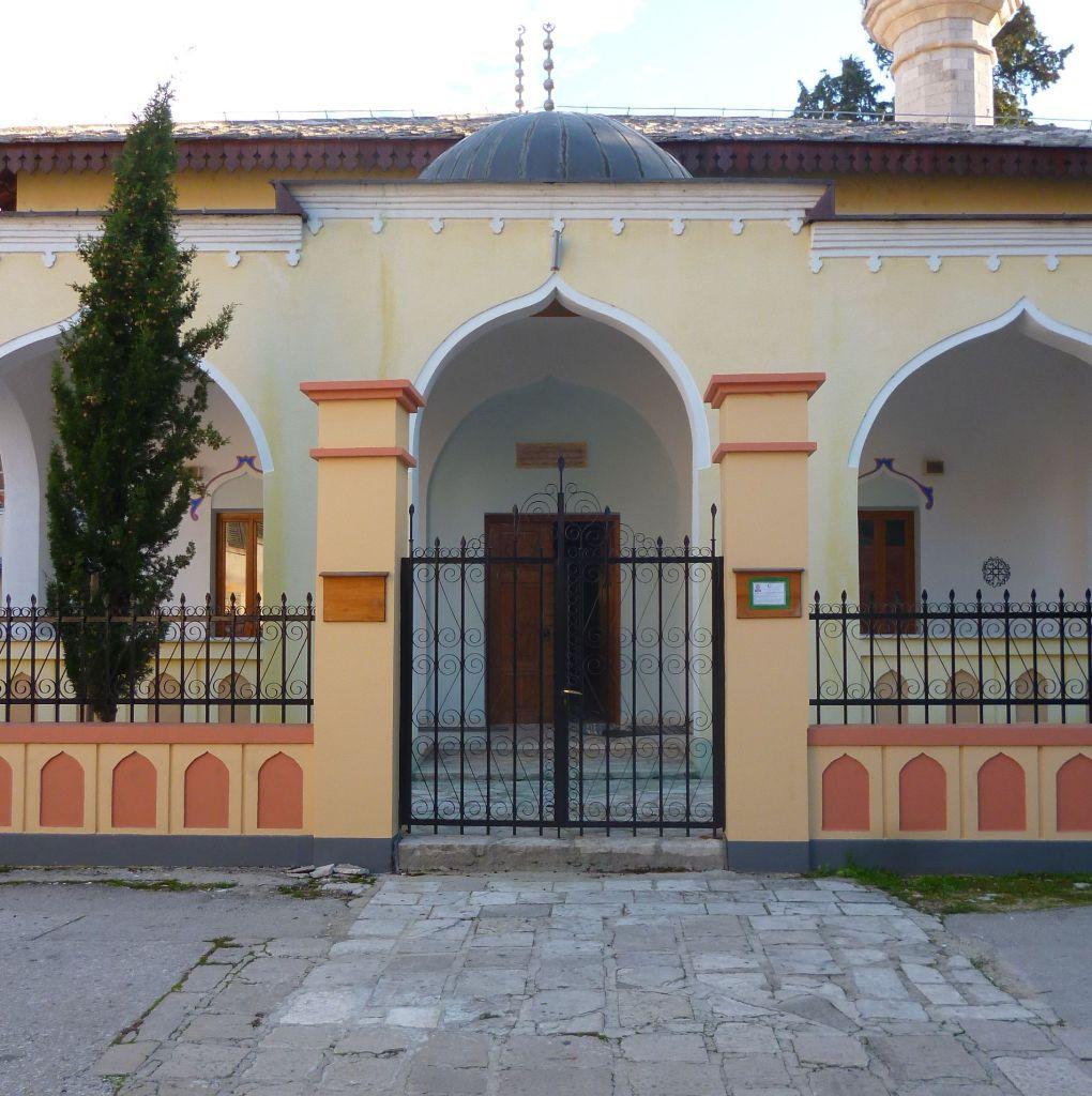 Фасад мечети. Фото: Елена Арсениевич, CC BY-SA 3.0