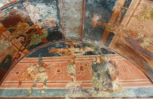 Распятие, фреска Георгия Митрофановича. Фото: Елена Арсениевич, CC BY-SA 3.0
