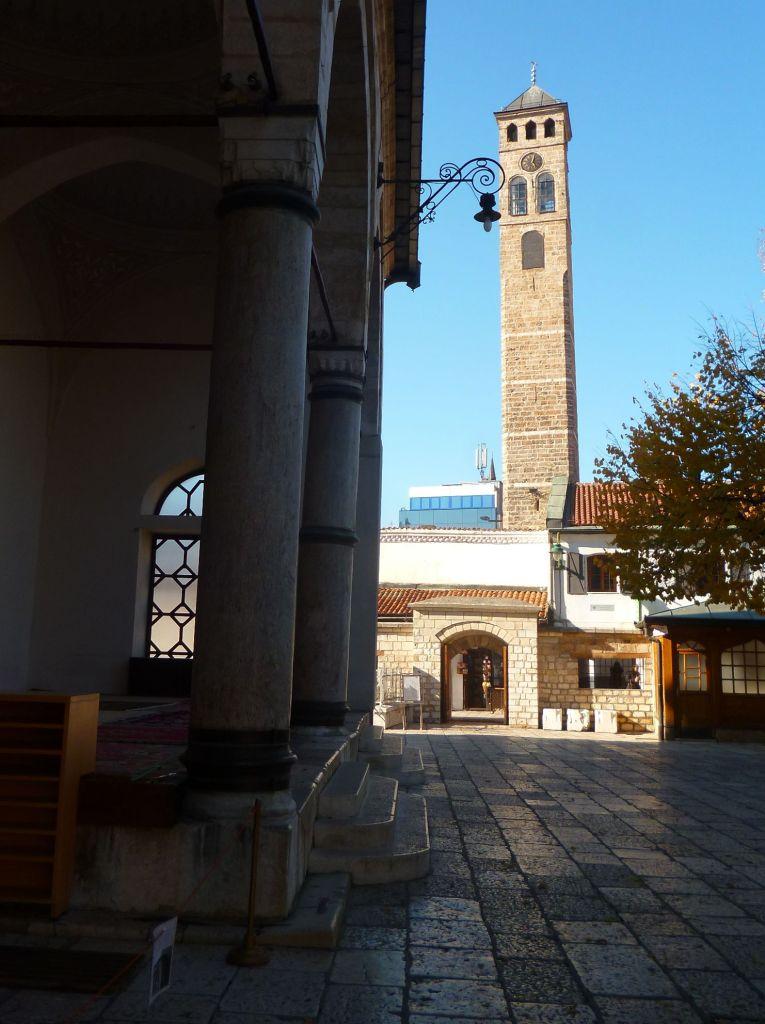 Часовая башня в Сараеве. Фото: Елена Арсениевич, CC BY-SA 3.0